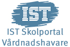Knapp till IST Skolportal för vårdnadshavare.