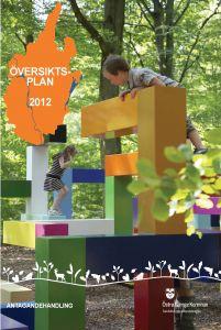 Bild på framsidan för översiktsplanen från 2012.