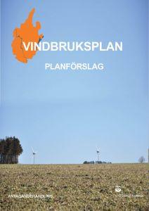 Bild på framsidan för Vindbruksplan.