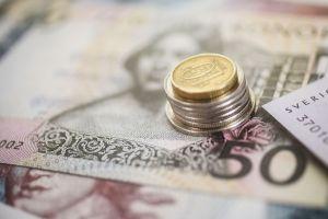 Bild på pengar.
