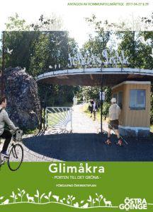 Bild på framsidan för fördjupad översiktsplan för Glimåkra.
