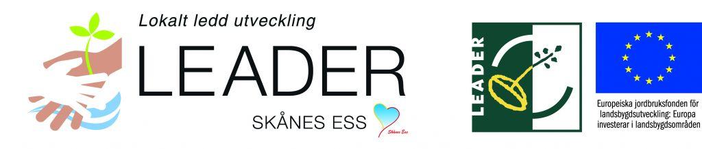 Leader Skånes ESS logotyp