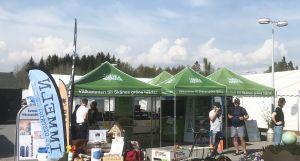 Gröna festivaltält