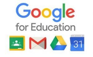 Logotyo Google for Education.