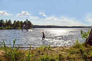 Badar i Tydingsjön