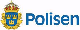 Polismyndighetens logotyp.